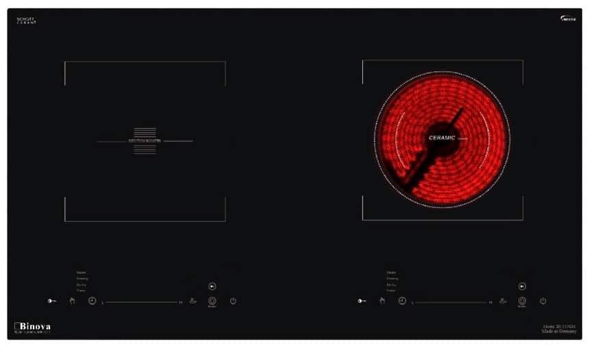 BẾP ĐIỆN TỪ BINOVA BI-555GM-IC