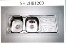 Chậu rửa bát sơn hà: SH2HB-1200 - MS3394